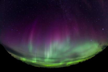 aurora boreal. latalegadepan